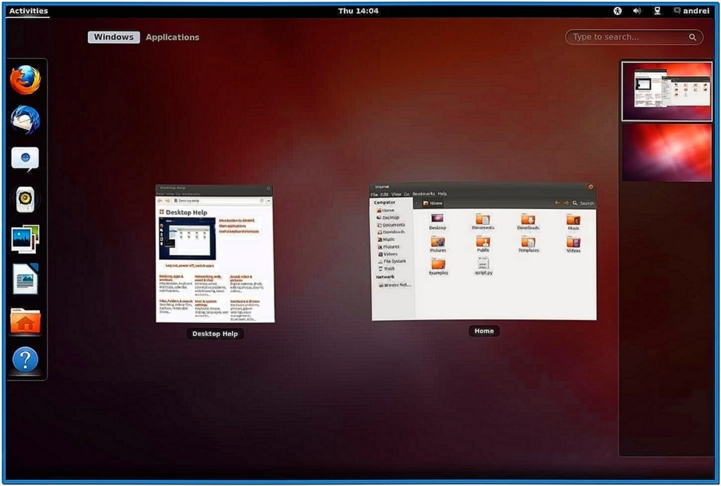 Ubuntu 12.04 Gnome Shell Screensaver
