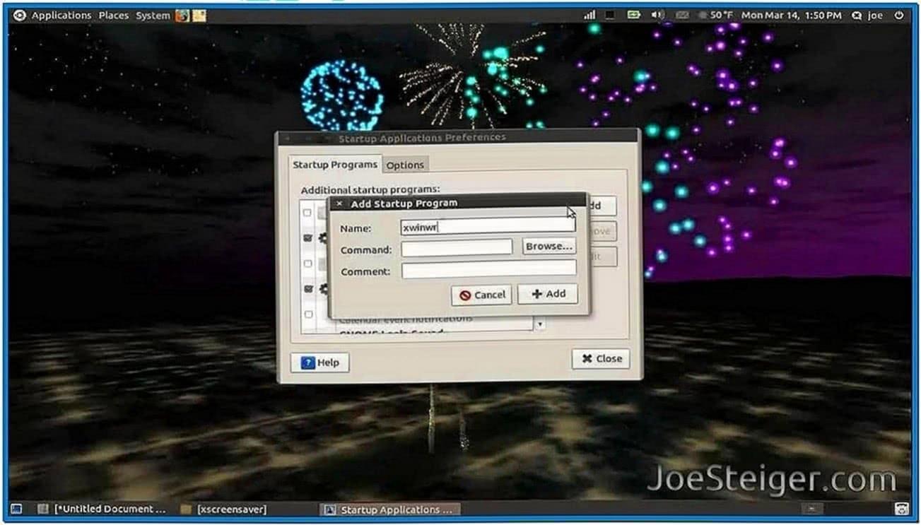 Ubuntu Animated Gif Screensaver