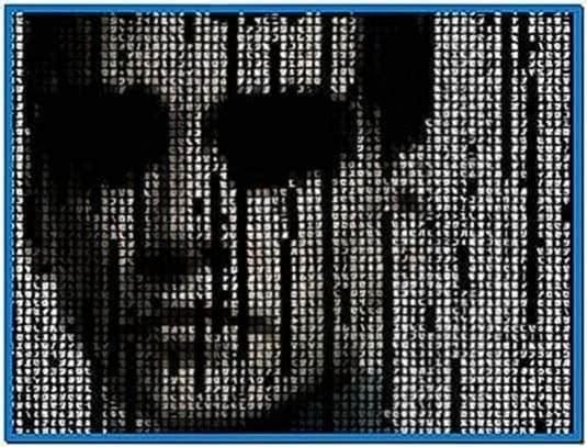 Uc 3D matrix screensaver 1.0
