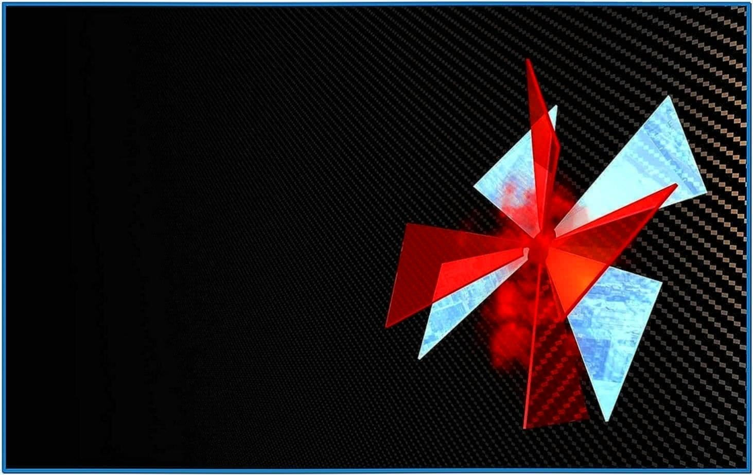 Umbrella Corporation Animated Screensaver