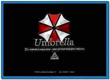 Umbrella Corporation Logo Screensaver