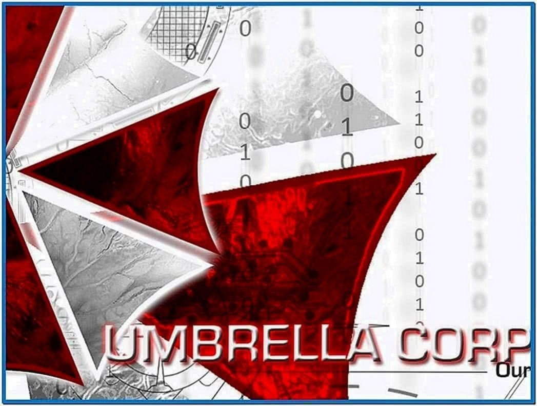 Umbrella Corporation Logo Screensaver