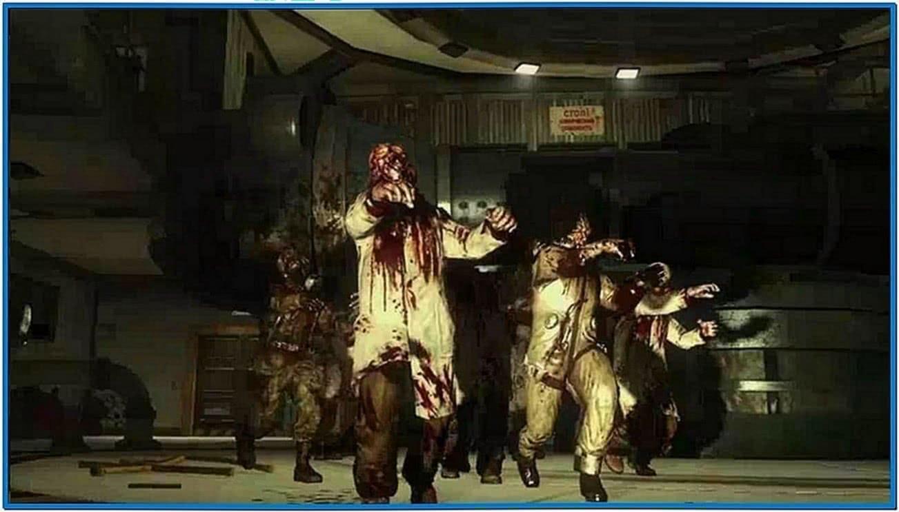 Umbrella Corporation Screensaver Zombies
