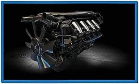 V8 Engine Screensaver