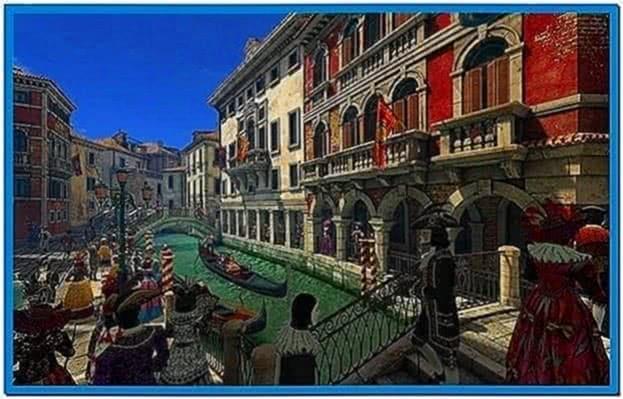 Venice carnival 3D screensaver 1.0.0.2