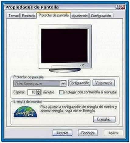 Video Als Screensaver Windows 7