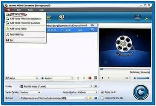 Video File to Screensaver Converter