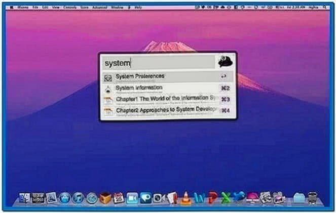Video Screensaver Mac OS Lion