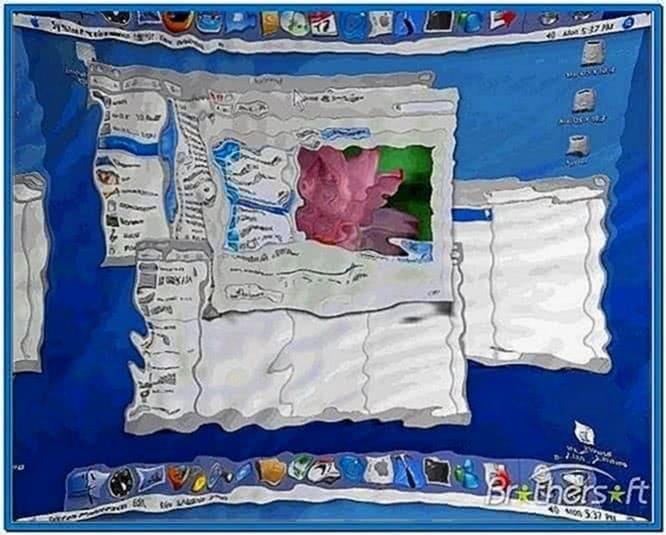 Video Screensaver Mac OS X
