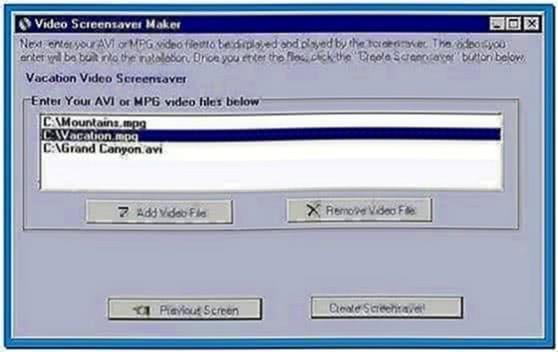 Video Screensaver Maker 2.14d