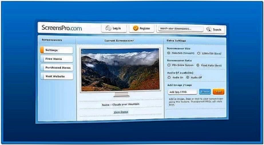 Video Screensaver Software Mac