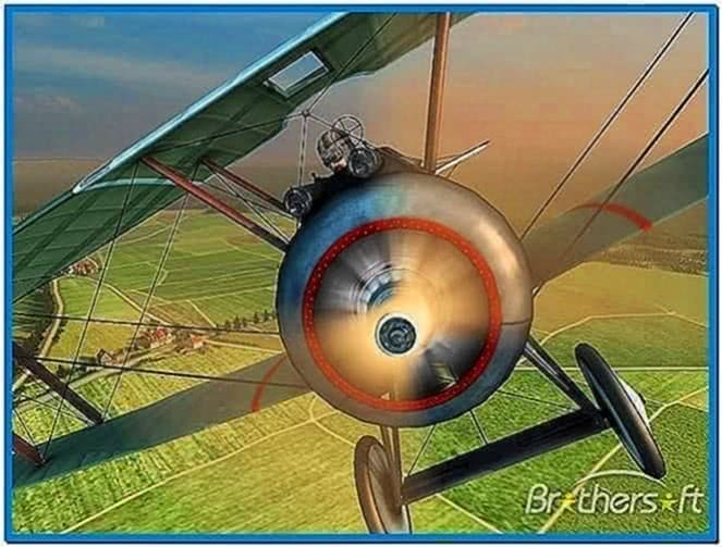 Vintage Aircrafts 3D Screensaver 1.0