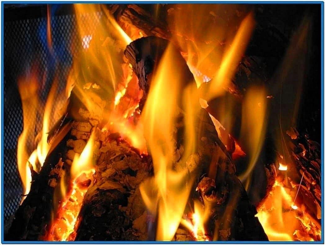 Virtual Fireplace Screensaver Vista