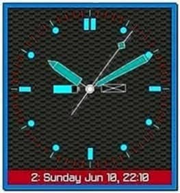 Vorino Clock Screensaver for Blackberry