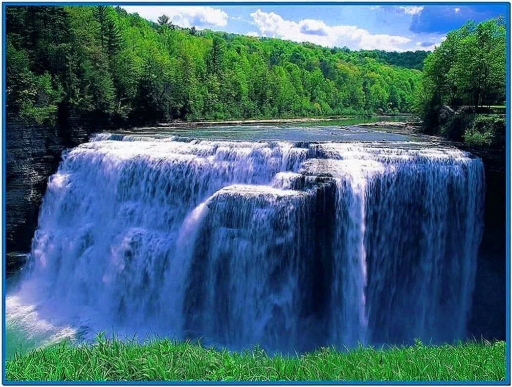 Waterfall Screensaver Pc