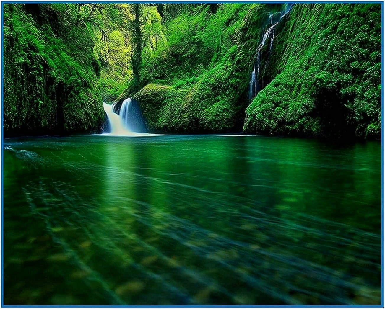 Waterfall screensaver pc  Download free