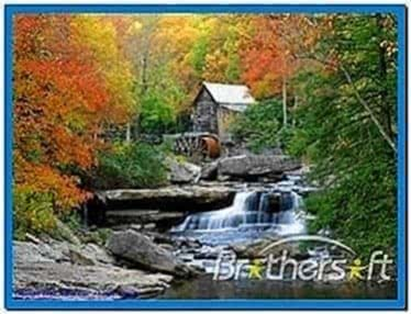 Waterfall Screensaver Windows XP
