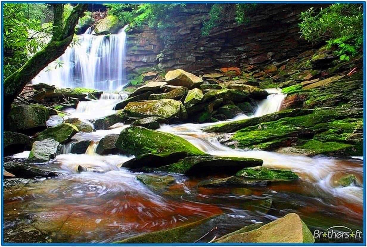 Waterfalls Screensaver Mac