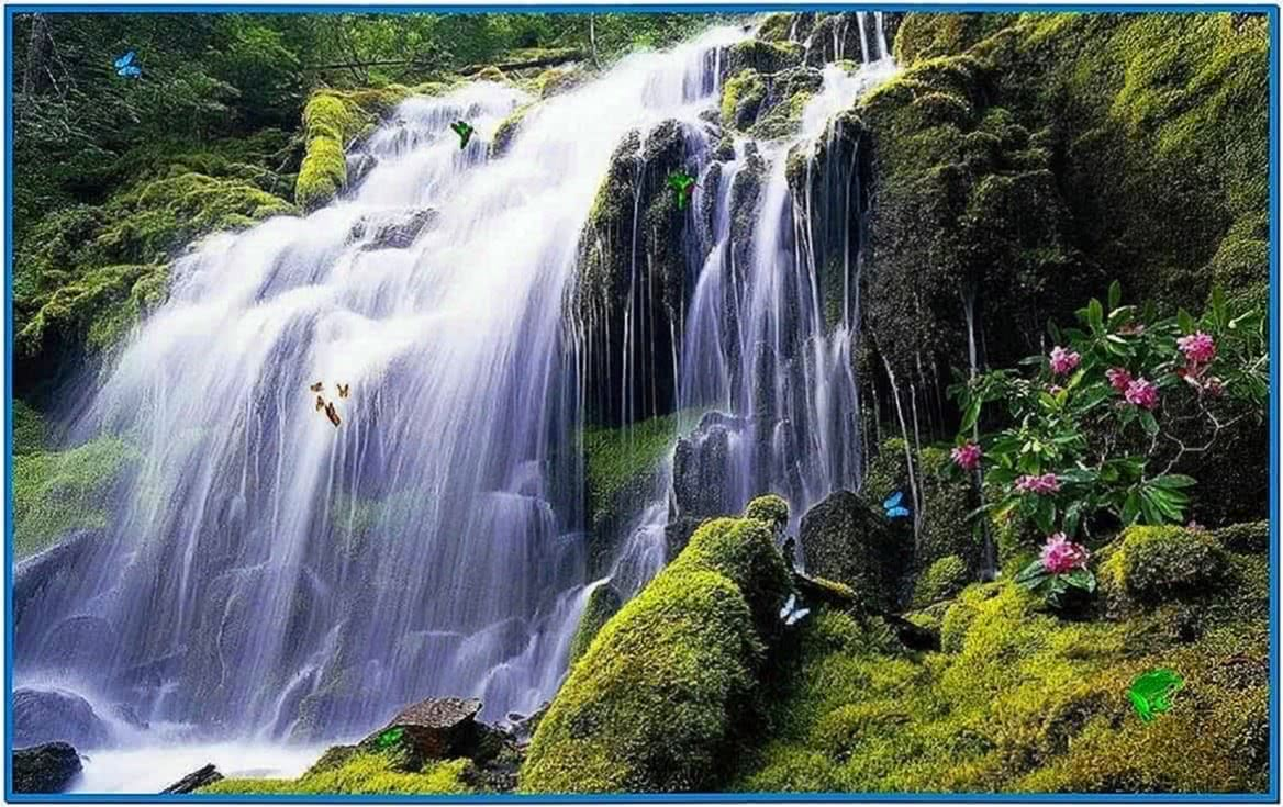 Waterfalls Screensaver Windows 7