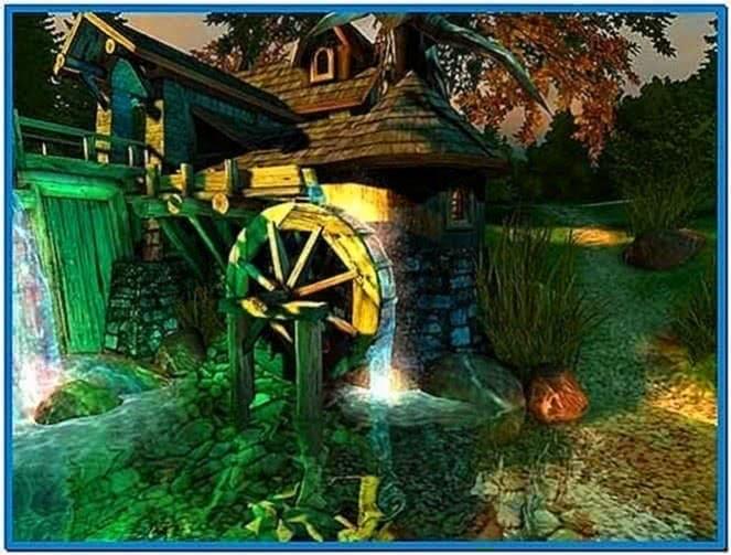 Watermill 3D Screensaver 1.0