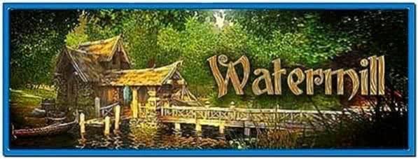 Watermill 3D Screensaver 2.0