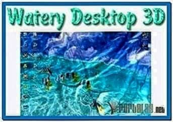 Watery desktop 3D screensaver 3.5.2.0