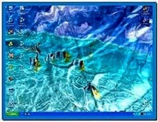 Watery Desktop 3D Screensaver Full Version