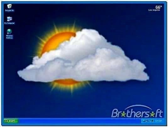 Weather Desktop Wallpaper Screensaver
