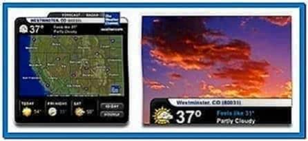 Weather radar screensaver Mac