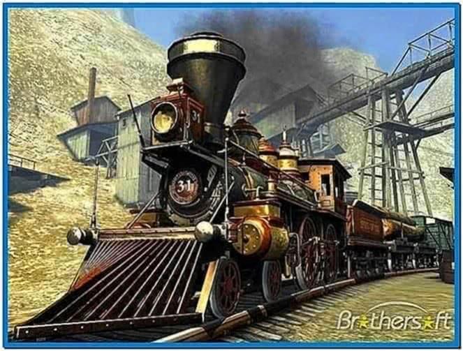 Western Railway 3D Screensaver 1.0