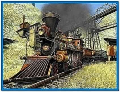 Western Railway 3D Screensaver 2.0