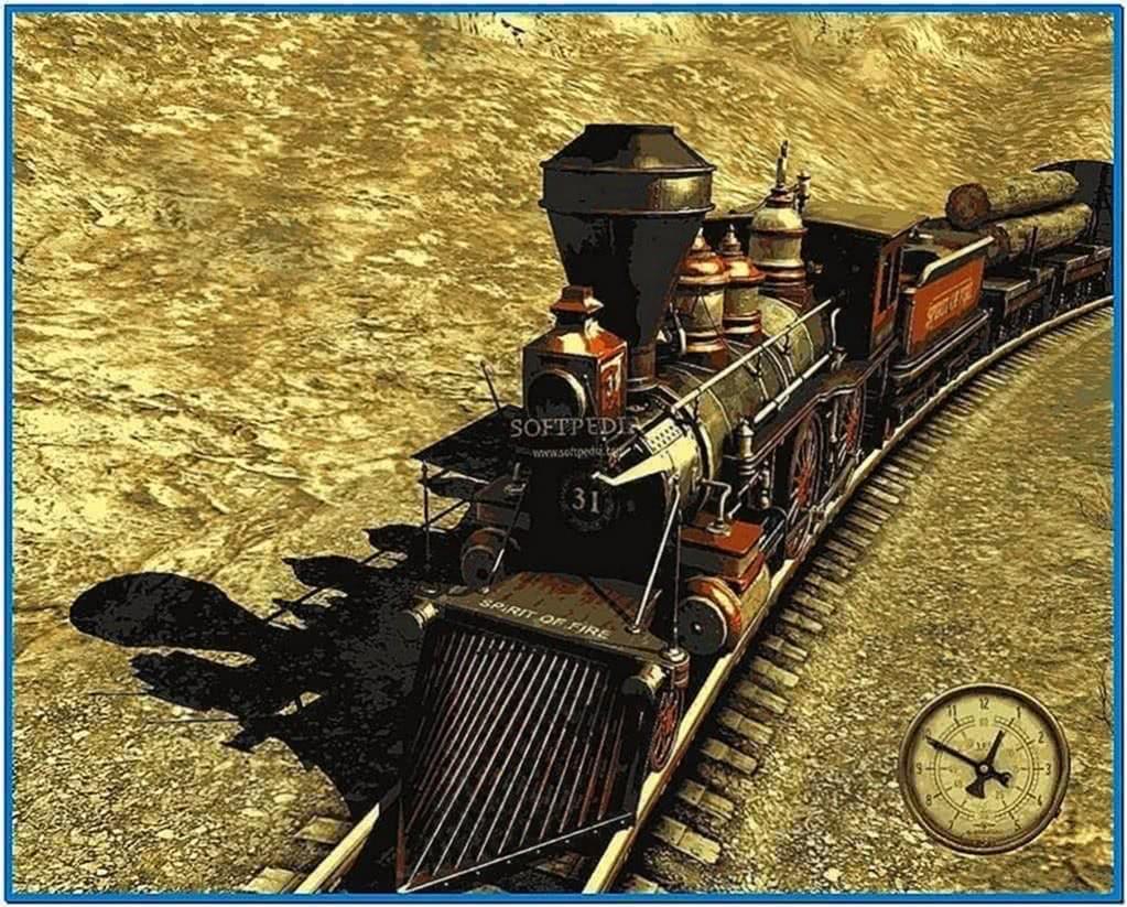Western Railway 3D Screensaver