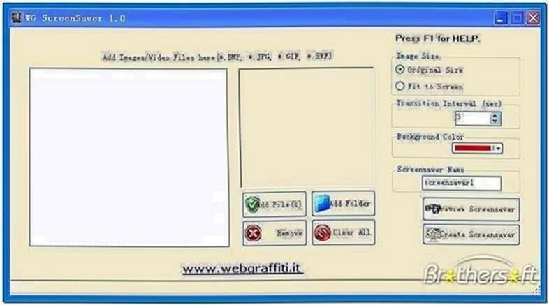 Wg Screensaver Creator
