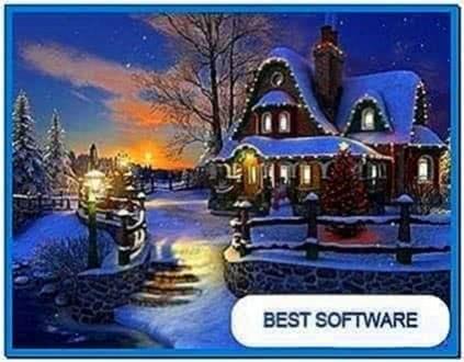 White Christmas 3D Screensaver 1.0.3