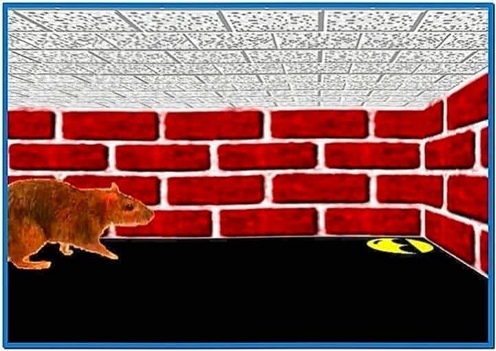 Windows 3D Maze Screensaver Game