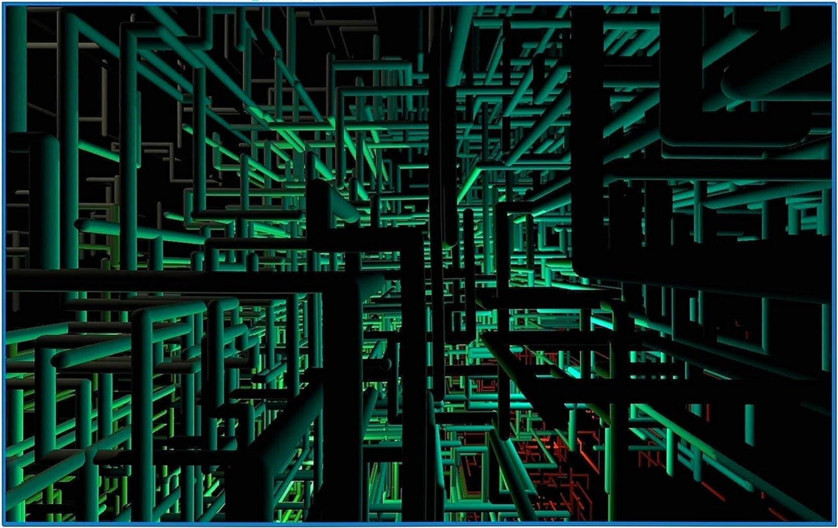 Windows 3D Pipes Screensaver