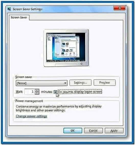 Windows 7 Lock Computer Without Screensaver