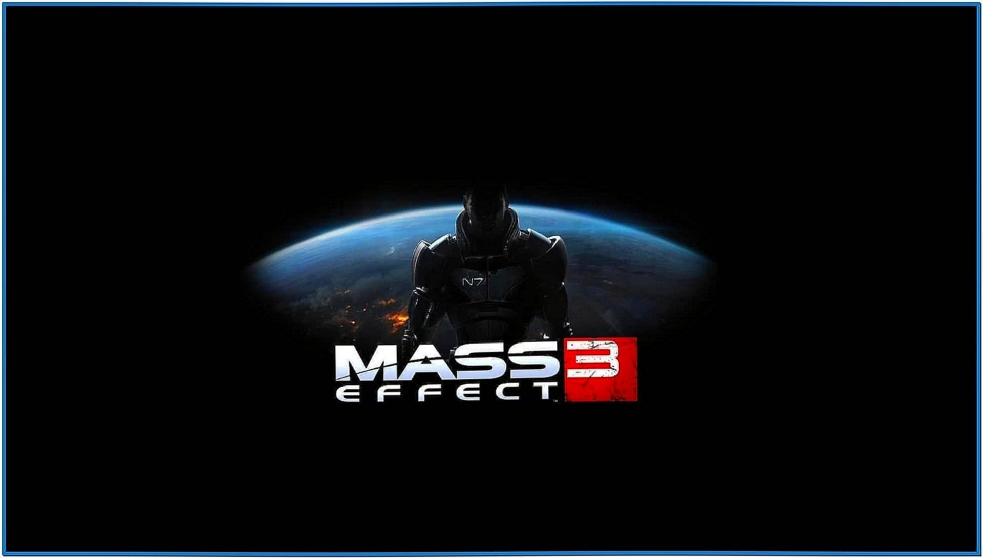 Windows 7 Mass Effect Screensaver