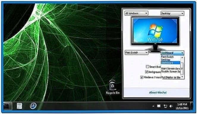 Windows 7 Screensaver Like Mac