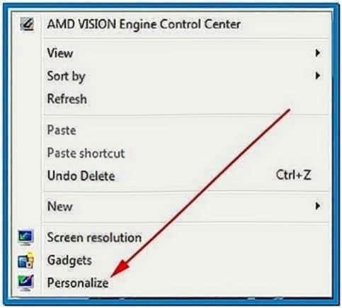 Windows 7 screensaver photo gallery