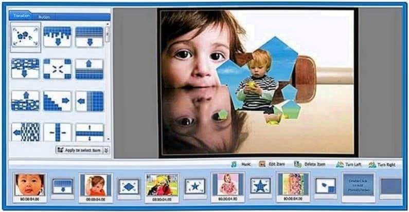 Windows 7 Slideshow Screensaver Transitions