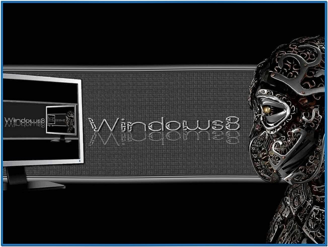 Windows 8 Screensaver Black