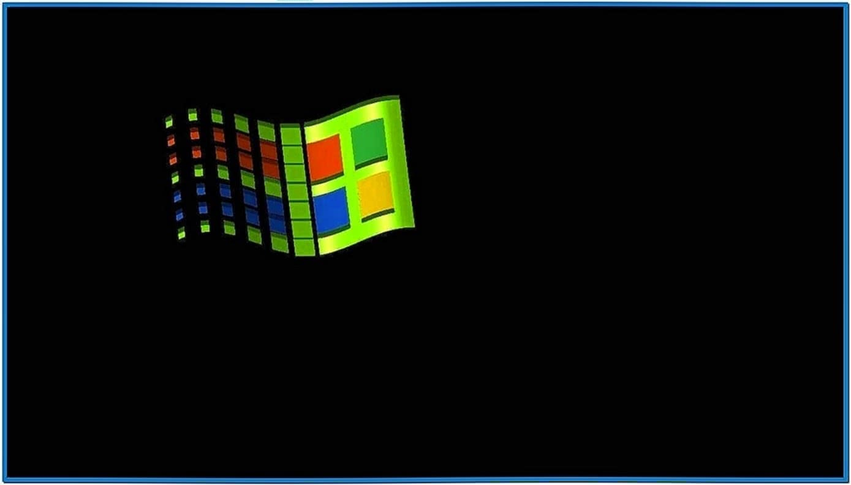 Windows Flying Objects Screensaver