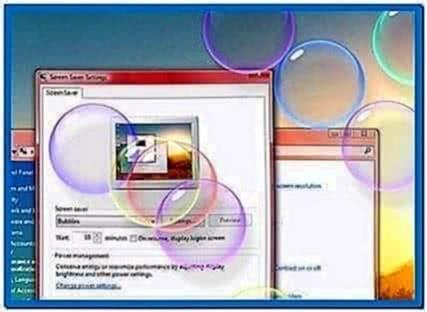 Windows screensaver api