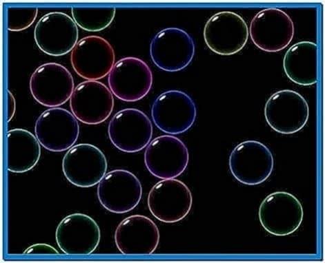 Windows screensaver bubbles