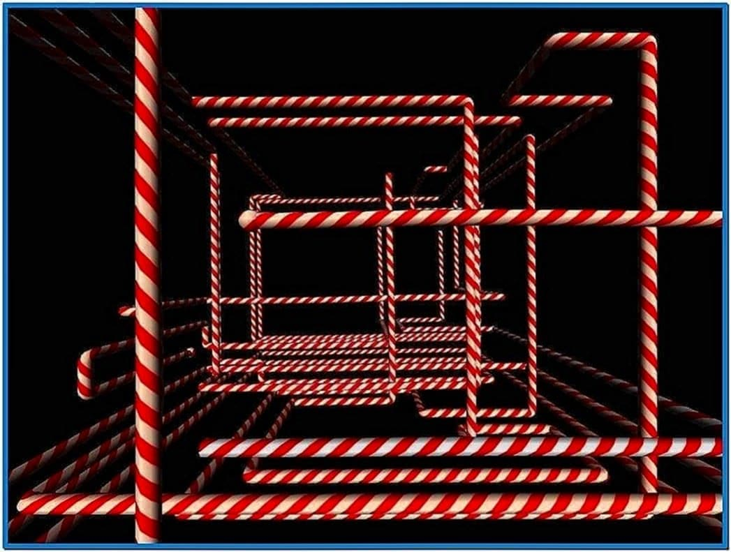 Windows XP 3D Pipes Screensaver