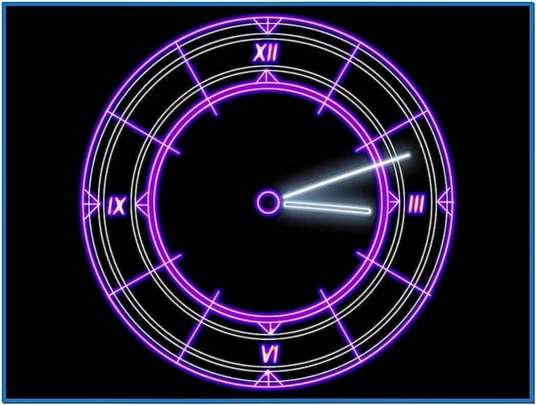 Windows XP Screensavers Clock