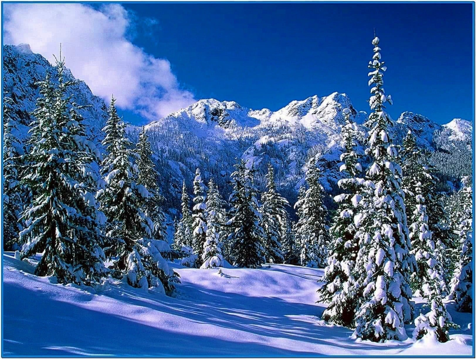 Winter Screensavers and Wallpaper