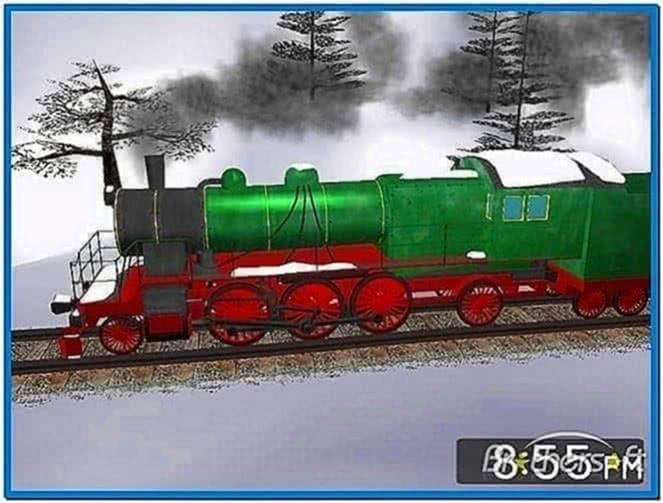 Winter Train 3D Screensaver 1.2.0