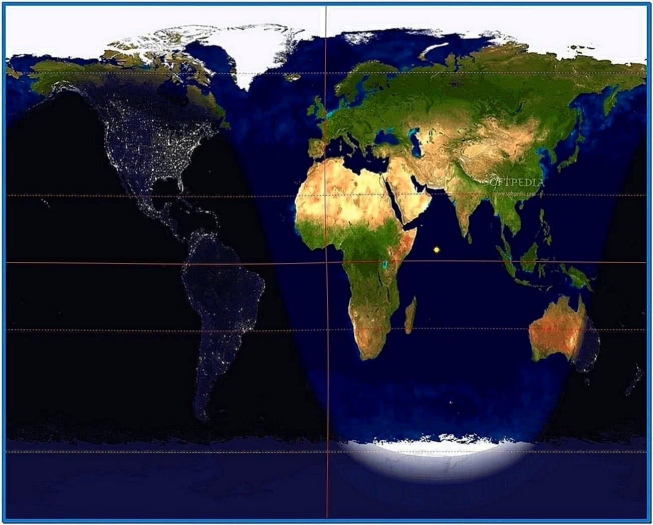 World Clock Screensaver Freeware
